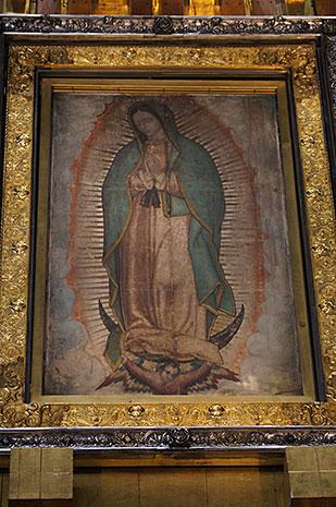 Le Visage Du Christ - Notre-dame De Guadalupe
